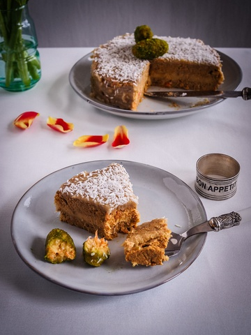 Rezept Carrot Cake mit Cashew Frosting