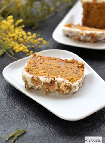 Rezept Carrot Cake mit Walnüssen