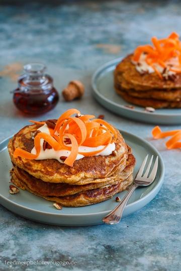 Rezept Carrot Cake Pancakes