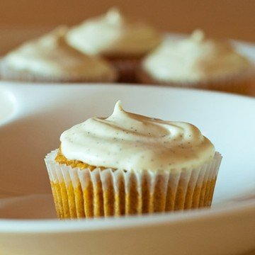 Rezept Carrot Cupcakes mit Cream Cheese Frosting