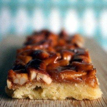 Rezept Cashew-Karamell-Shortbread