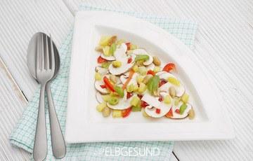Rezept Ceviche mal ganz anders aus Gemüse & Obst, echt lecker!