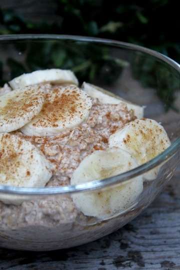 Rezept Chai Overnight Oats mit Banane