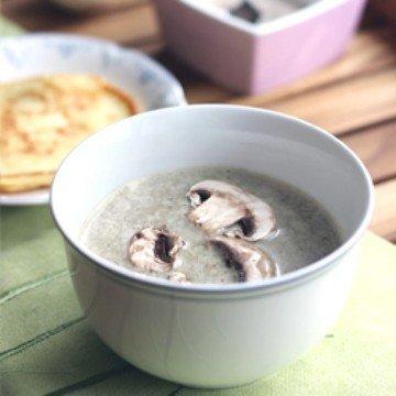 Rezept Champignoncrèmesuppe