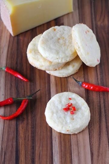 Rezept Cheddar Chili Shortbread