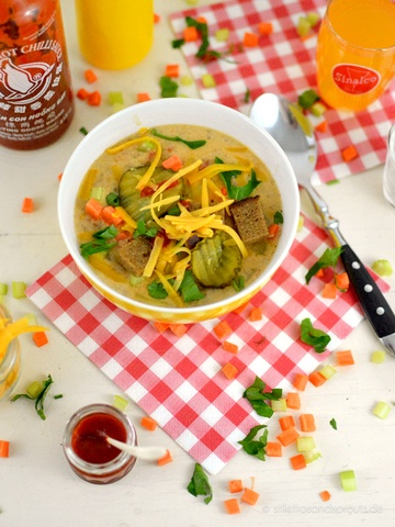 Rezept Cheeseburger Soup