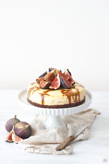 Rezept Cheesecake mit Feigen und Balsamico