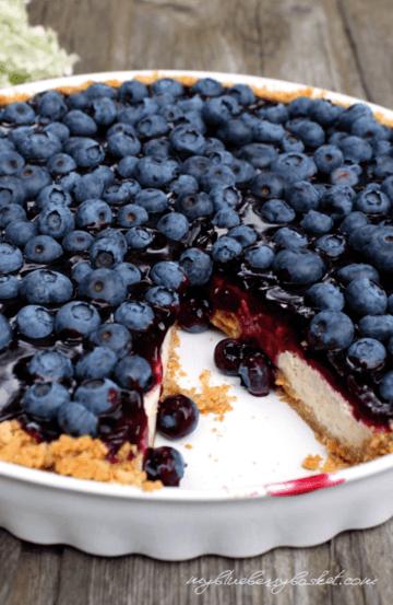 Rezept Cheesecake mit Heidelbeeren