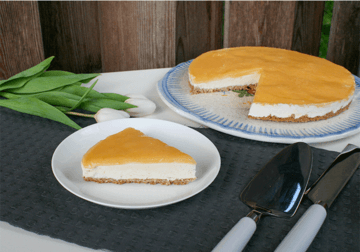 Rezept Cheesecake mit Lemon Curd (no bake)
