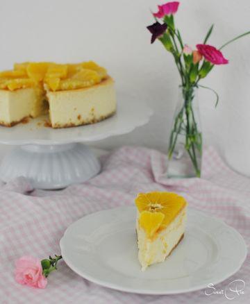 Rezept Cheesecake mit Orangen-Muskat Topping