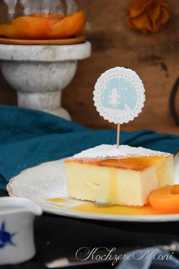Rezept Cheesecake ohne Boden mit Aprikosensoße