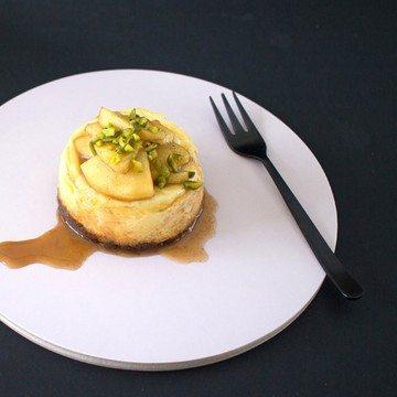Rezept Cheesecake Törtchen mit Apfelkaramell