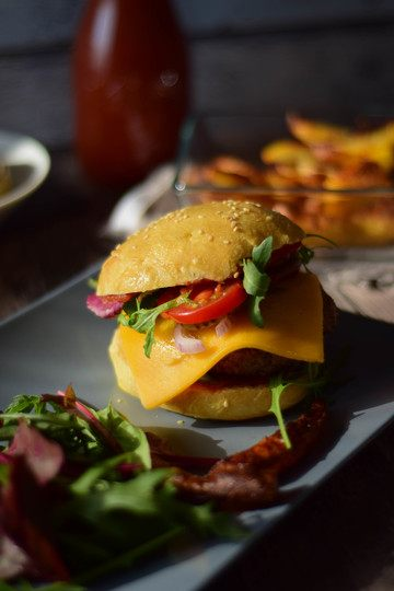 Rezept Cheesy Cheeseburger