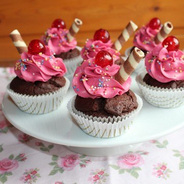 Rezept Cherry Cupcakes