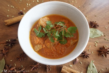 Rezept Chettinad Lamm-Curry