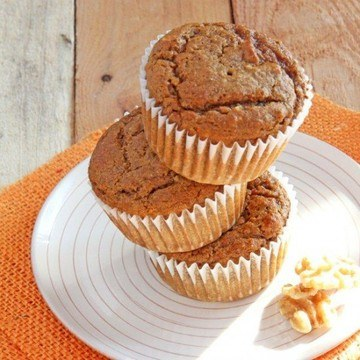 Rezept Chia Kuerbis Muffins