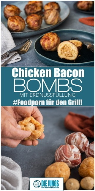 Rezept Chicken Bacon Bombs