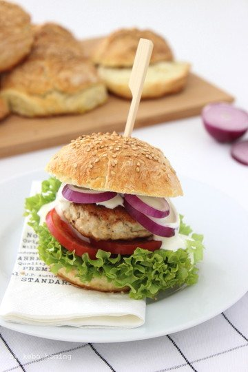 Rezept Chicken Burger deluxe