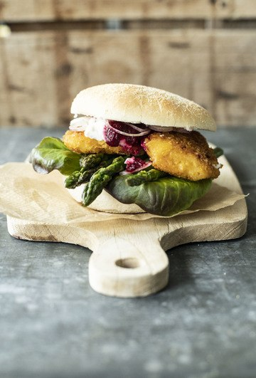 Rezept Chicken Burger