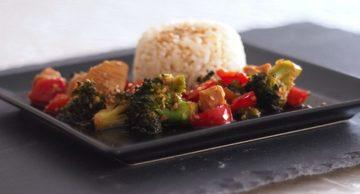Rezept Chicken-Teriyaki, schnell gemacht & super lecker!