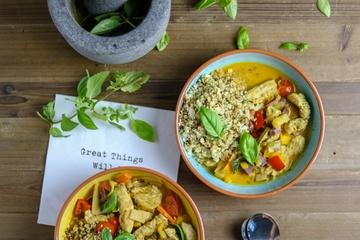 Rezept Chicken Thai Curry - Low Carb