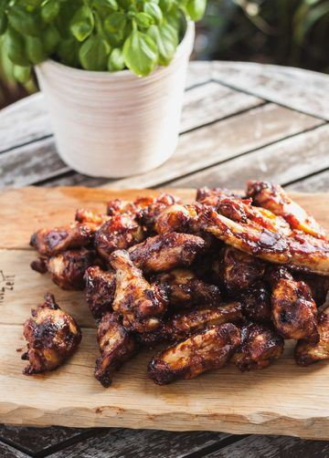 Rezept Chicken Wings BBQ Style