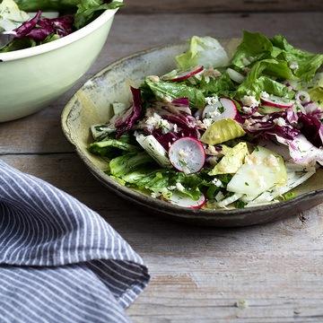 Rezept Chicorée-Salat mit Sardellen-Dressing
