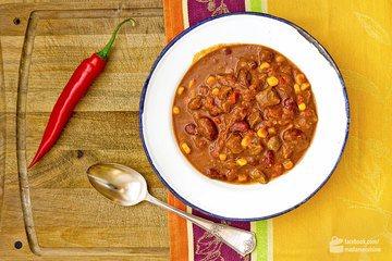 Rezept Chili con Carne mit Rindfleisch
