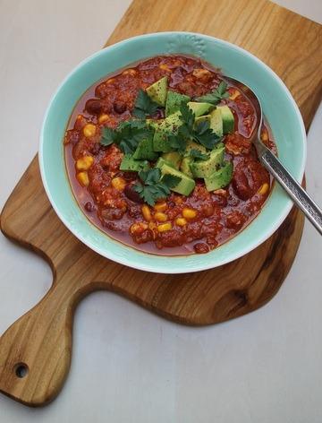 Rezept Chili con tofu