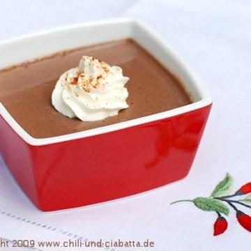 Rezept Chili-Schokoladencreme-Töpfchen