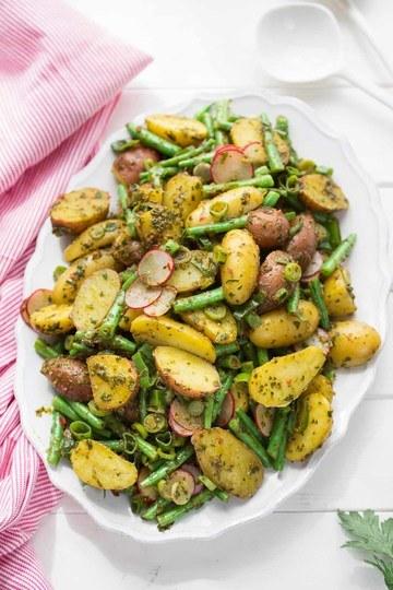 Rezept Chimichurri Kartoffelsalat mit grünen Bohnen