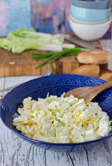 Rezept Chinakohlsalat mit Mandarinen