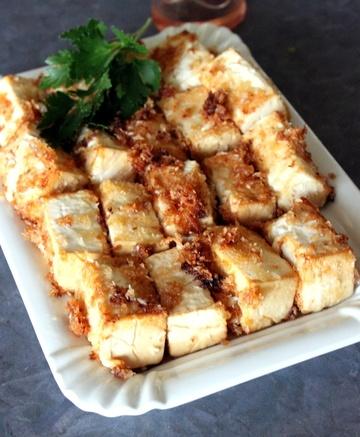 Rezept Chinese crispy-soft Coconut Tofu