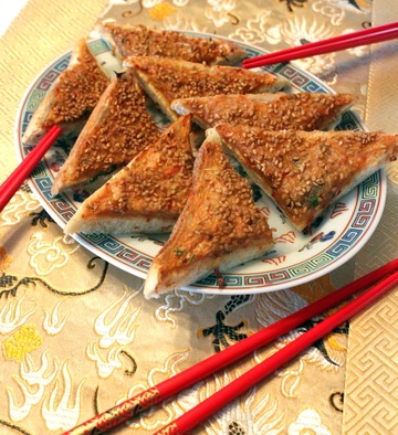 Rezept Chinese Shrimp Toast with Sesame