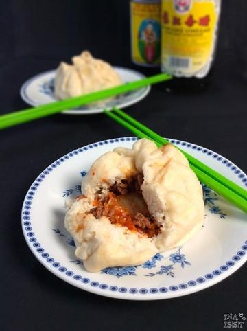 Rezept Chinesische Baozi - Herzhafte, gedämpfte Teigbällchen