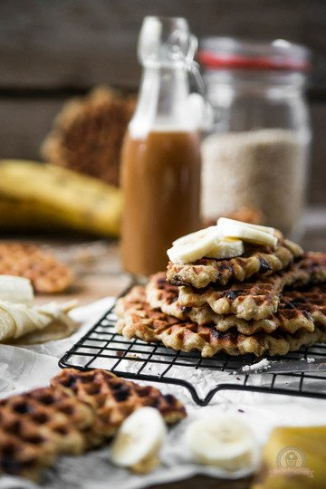 Rezept Chocolate Chip Oatmeal Waffles