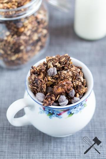 Rezept Chocolate Coconut Granola