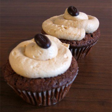 Rezept Chocolate-Cupcakes mit Caramel-Frosting