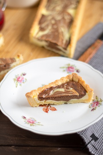 Rezept Chocolate Ripple Cheesecake Tarte