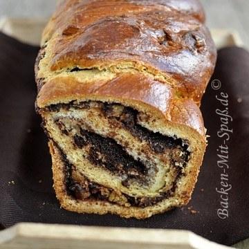 Rezept Chocolate Swirl Babka