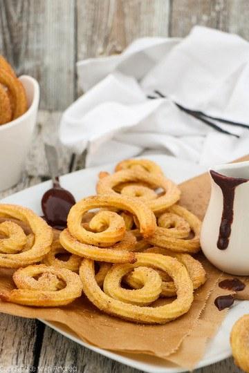 Rezept Churrospiralen aus dem Ofen
