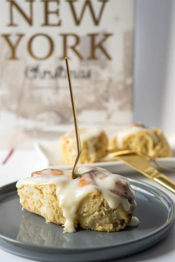Rezept Cinnamon Rolls mit Frischkäse Topping