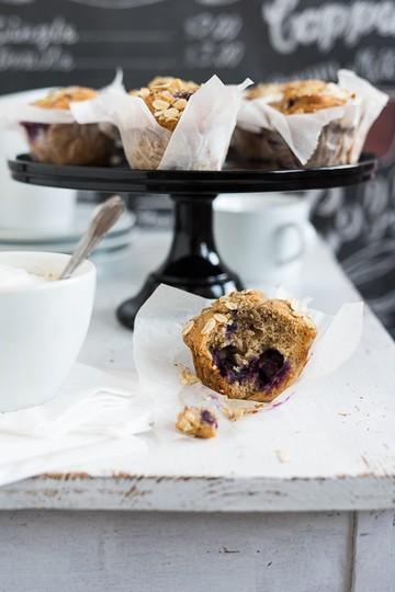 Rezept Coffeechop Frühstück-Blaubeer Muffins
