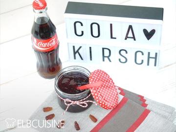 Rezept Cola-Kirsch-Marmelade – ein ungewöhnliches süßes Vergnügen für's Frühstück!