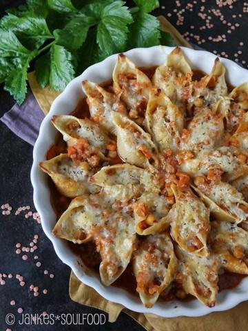 Rezept Conchiglioni mit vegetarischer Bolo