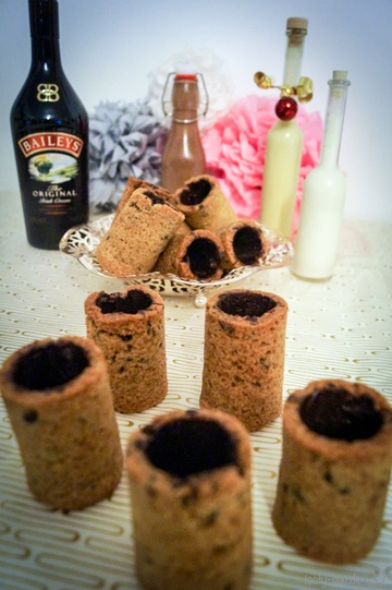 Rezept  Cookie Shot Becher