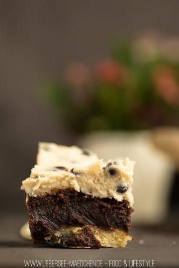 Rezept Cookiedough-Kuchen mit Keksteig