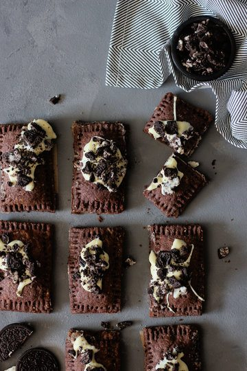 Rezept Cookies and Cream Pop-Tarts