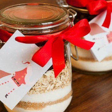 Rezept Cookies in a Jar