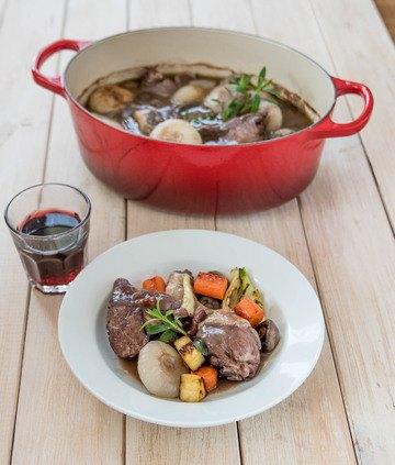 Rezept Coq au vin – Der Hahn im Wein